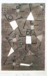 Kunstdruck Schule: Klee, Paul - Tänze vor Angst