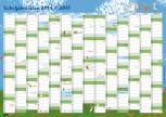 Wandposter - Schuljahresplan 2014/15 A2 (kostenloser Restposten)