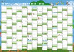 Wandposter - Schuljahresplan DIN A2 (Ansichtsexemplar)