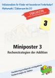 Miniposter 3: Rechenstrategien der Addition (ebook)