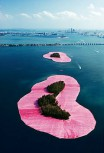 Christo und Jeanne-Claude - Surrounded Islands, Miami, Florida (1980-83)