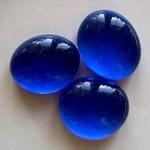 Muggelsteine, kobaltblau, 30 Stck.