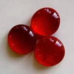 Muggelsteine, rubinrot, 30 Stck.