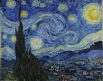 van Gogh, Vincent   - Sternennacht (1889)