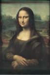 Kunstdruck Schule: da Vinci, Leonardo - Bildnis der Mona Lisa (La Gioconda) (1503-1506)
