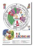 Faltblatt Das Kirchenjahr (10 Stck.)
